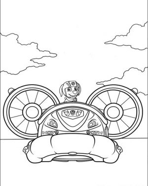 Kids Printable Paw Patrol Coloring Pages Zuma – 53678