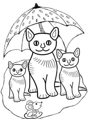Kitten Coloring Pages Kids Printable – 54672 – new
