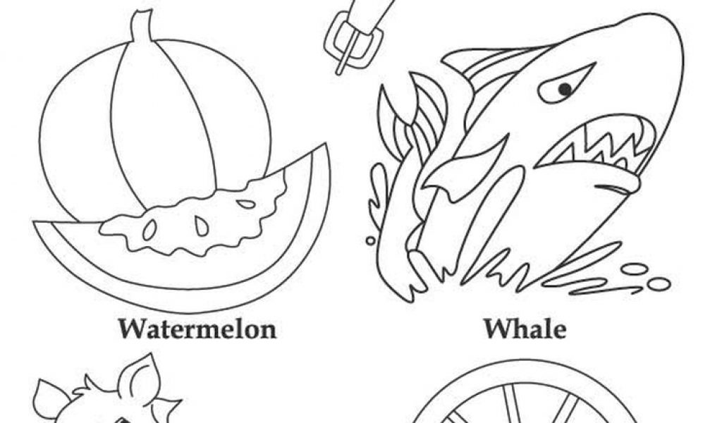 Letter W Coloring Pages W Coloring Pages