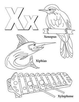 Letter X Coloring Pages – xy3ma