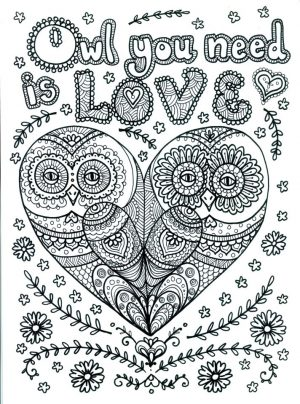 Love Coloring Pages for Adults Free – 91ld8