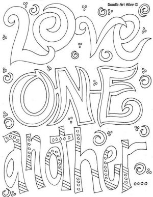 Love Coloring Pages to Print for Kids – 95891