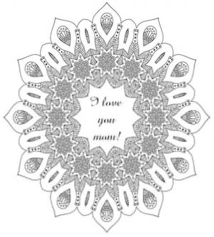 Mother's Day Coloring Pages for Adults Printable – 73910