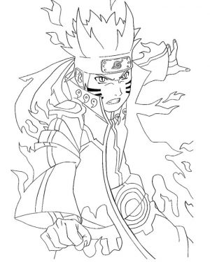 Naruto Coloring Pages Free Printable – 89968