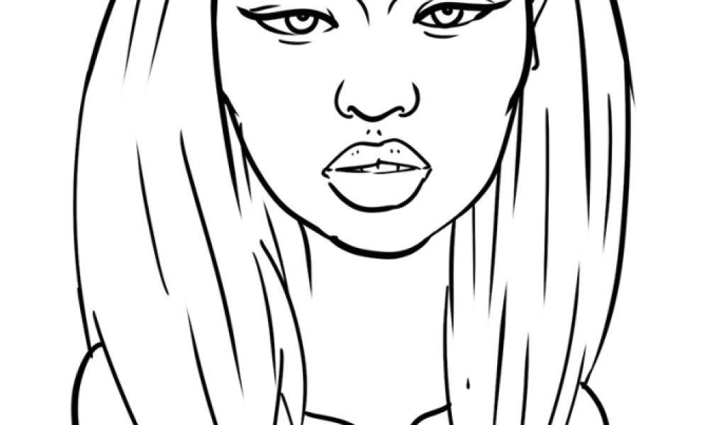nicki minaj coloring pages for kids | Get This Nicki Minaj Coloring Pages To Print - 87310