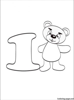 Number 1 Coloring Page – 15ag3