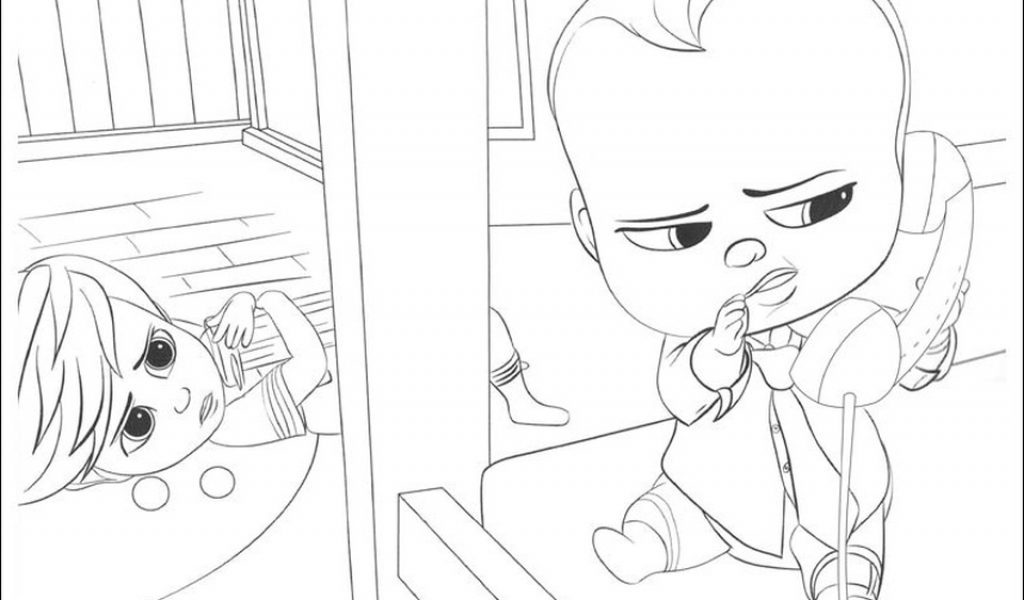 Get This Online Boss Baby Coloring Pages For Kids