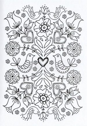 Online Printable Mother's Day Coloring Pages for Adults – 43910