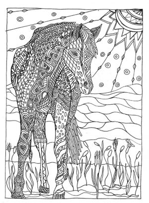 Online Summer Printable Coloring Pages for Adults – 52010