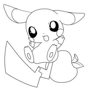 Pikachu Coloring Pages Printable – 78sf4