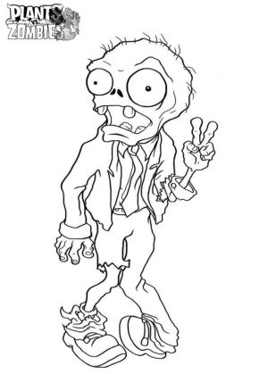 Plants Vs. Zombies Coloring Pages Free Printable – 89271