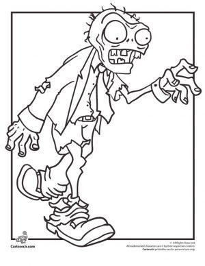 Plants Vs. Zombies Coloring Pages Kids Printable – 89578