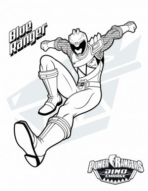Power Ranger Dino Force Coloring Pages for Kids – 71218