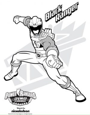 Power Ranger Dino Force Coloring Pages for Kids – 91218
