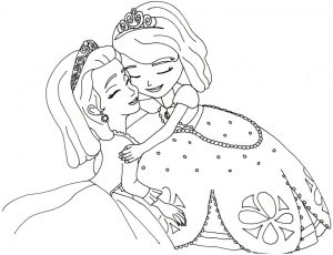 Princess Sofia the First Coloring Pages to Print Out for Girls – 37127