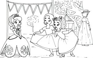 Princess Sofia the First Coloring Pages to Print Out for Girls – 87851