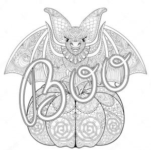 Pumpkin Coloring Pages for Adults Free – yv51b