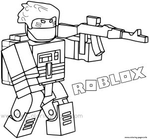 Roblox Coloring Pages Printable sld2