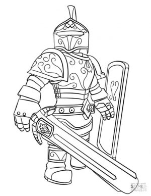 Roblox Coloring Pages jkv6