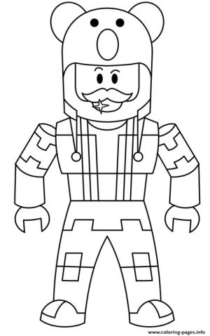 Roblox Coloring Pages to Print emn4