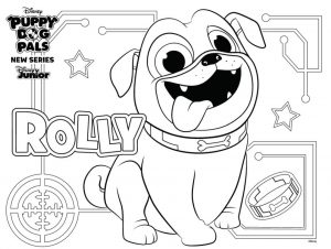 Rolly Puppy Dog Pals Coloring Pages Printable 9gfc