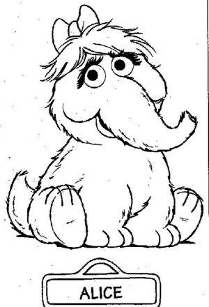 Sesame Street Coloring Pages Free Printable – bg75n