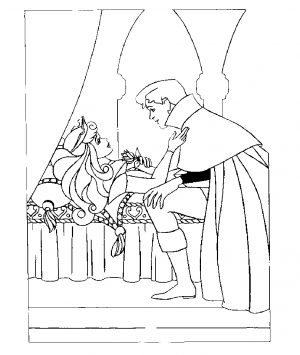 Sleeping Beauty Coloring Pages Free to Print – 4u55l