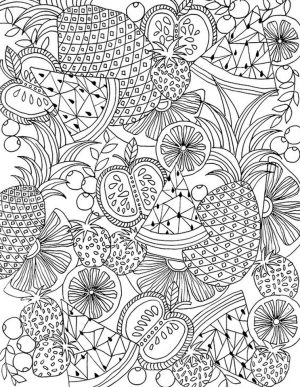 Summer Coloring Pages for Adults Printable – 09073