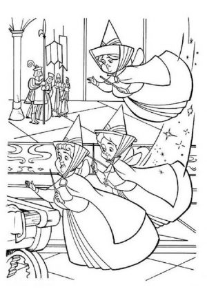 The Fairies from Princess Sofia the First Coloring Pages to Print Out for Girls – 74671