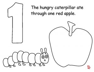 The Very Hungry Caterpillar Coloring Pages Free for Kids – 11759