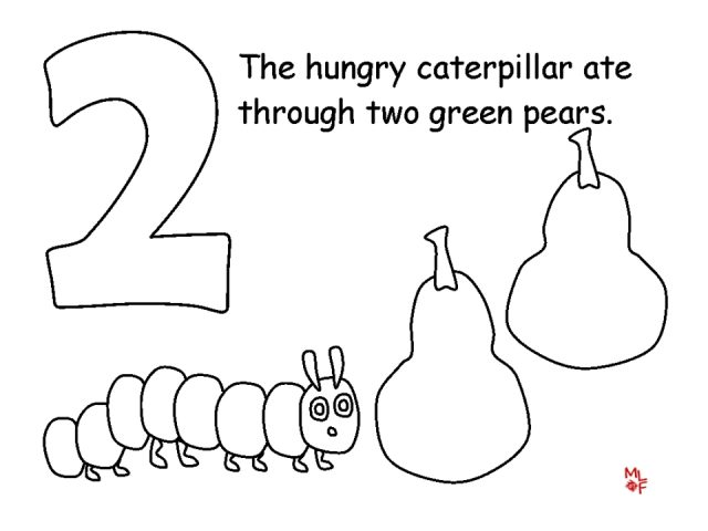awesome very hungry caterpillar coloring pages images - printable ... - Hungry Caterpillar Coloring Pages