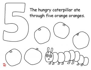 The Very Hungry Caterpillar Coloring Pages Free for Kids – 32812