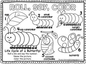 The Very Hungry Caterpillar Coloring Pages Free for Kids – 67482