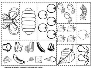 The Very Hungry Caterpillar Coloring Pages Free for Kids – 67491