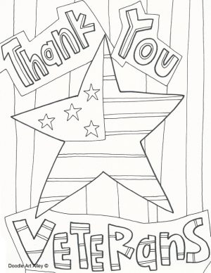Veteran's Day Coloring Pages for Preschool – 7cb3z