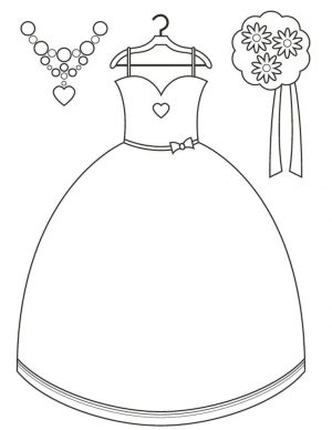 Wedding Dress Coloring Pages – 8sn3