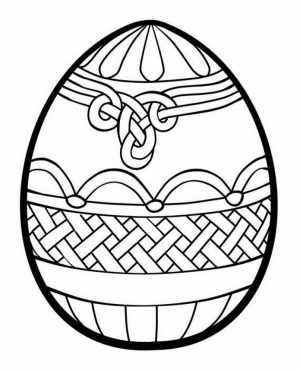 Adults Printable Easter Egg Coloring Pages   99678