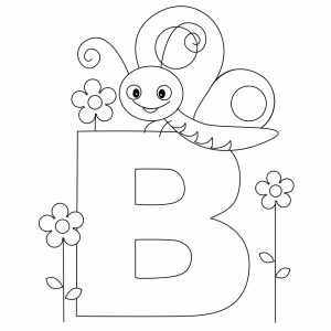 Alphabet Coloring Pages Educational Printable   17563