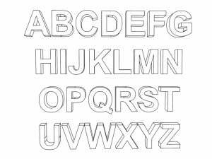 Alphabet Coloring Pages for Kids   49782