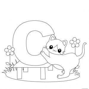 Alphabet Coloring Pages to Print for Kids   06741
