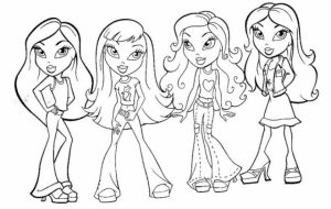 American Girl Coloring Pages Free Printable   jcaj19