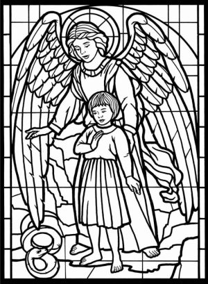 Angel Coloring Pages for Adults   34DF7