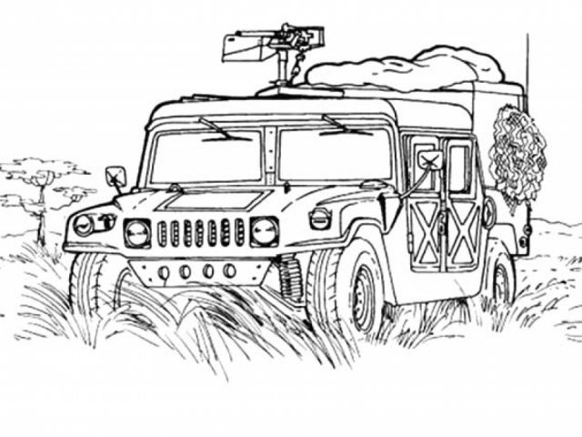 get this army truck coloring pages free to print 9862vbbn. Black Bedroom Furniture Sets. Home Design Ideas