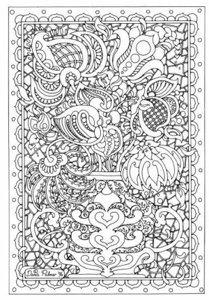 Autumn Coloring Pages for Adults Free Printable   3sz5cp