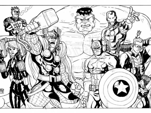 halloween coloring pages avengers halloween coloring pages avengers 8809 kinowekcom - Avengers Coloring Pages