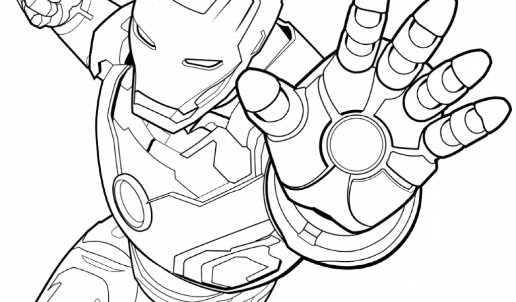 Get This Avengers Coloring Pages Iron Man For Boys 89431