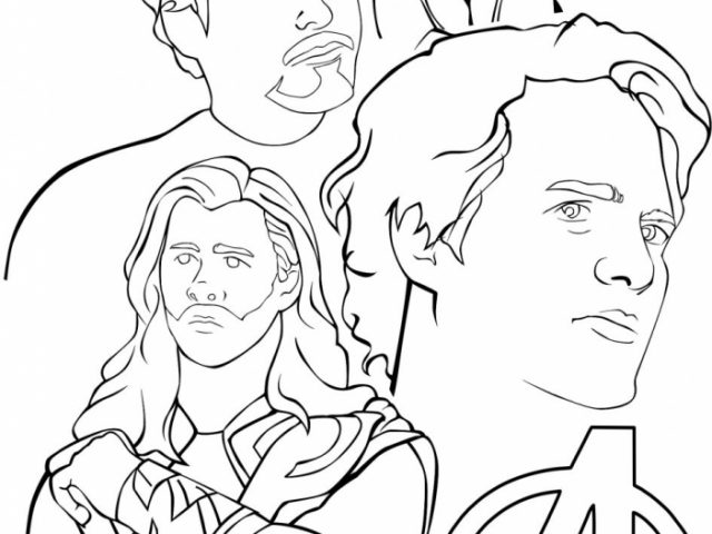avengers coloring pages for boys - photo#21