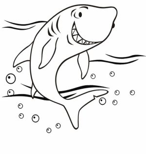 Baby Shark Coloring Pages   56128