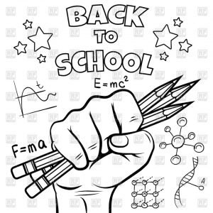 Back to School Coloring Pages for Toddlers   ycn39
