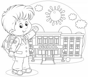 Back to School Coloring Pages Free   73yx2